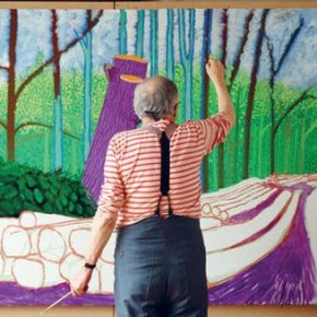 ARTIST QUOTE: DAVID HOCKNEY