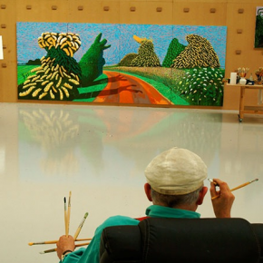 ARTIST STUDIO: DAVID HOCKNEY