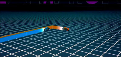 Motorcycle race scene from Tron. Image: www.blog.creamglobal.com