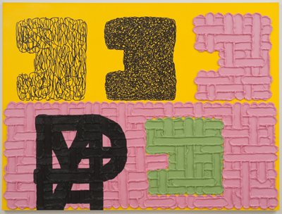 Jonathan Lasker, An Image of the Self, Image: www.latimesblogs.latimes.com