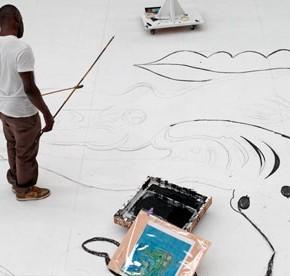 ARTIST STUDIO: CHRIS OFILI