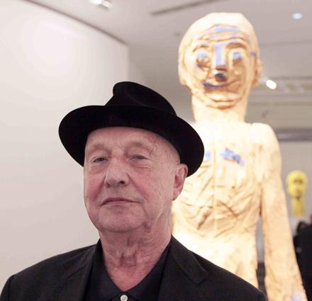 Georg Baselitz portrait retrato