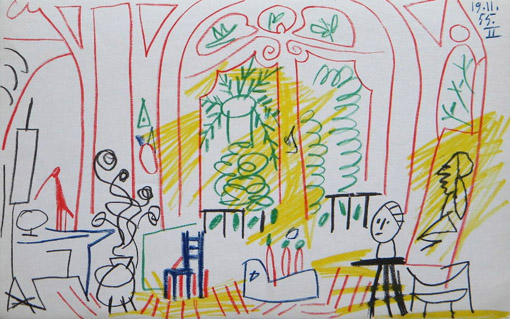 picasso_drawing_californie