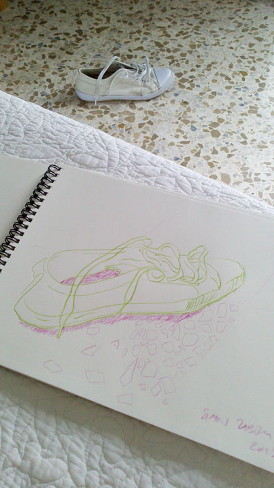 simon_zabell_drawing_shoe