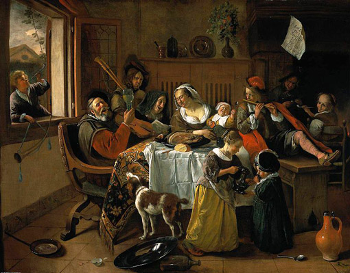 jan_steen_family_familia_feliz