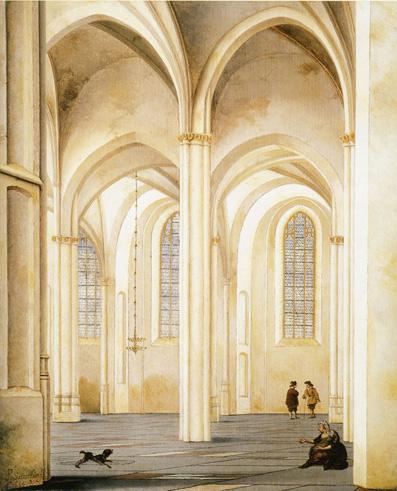 pieter saenredam_church_iglesia
