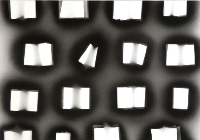 'Rememorising Le Voyeur', 2010 acrylic on canvas,  140 x 200 cm (55.1 x 78.7 inches)