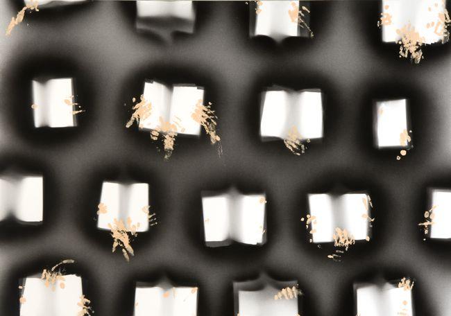 'Rememorising Le Voyeur', 2010 acrylic on canvas 140 x 200 cm (55.1x 78.7)