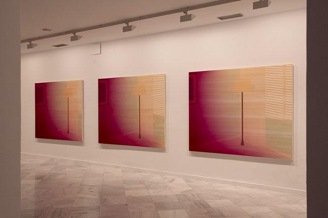 'La Jalousie, triptych'