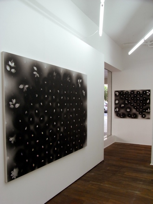 'The Sky Above Honolulu' exhibition view, Galería Sandunga, Granada (Spain) 2011