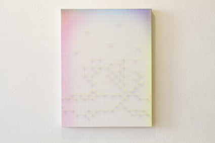 'Of Canyons and Stars', 2013 Acrylic on canvas, 23.6 x 18.1 inches (60 x 46 cm)