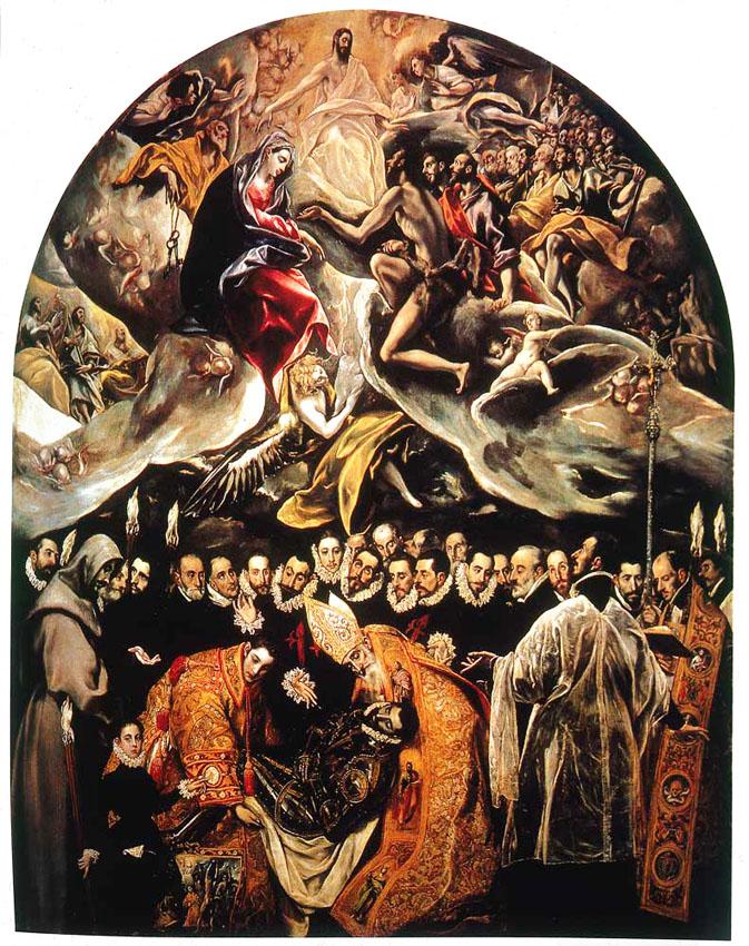 El Greco Burial of Count Orgaz / El entierro del Conde Orgaz, 1586 - 1588