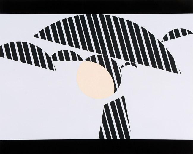 'Rema (Monica Vitti)', 2008 Emulsion on fabric 63 x 78.7 inches (160 x 200 cm)