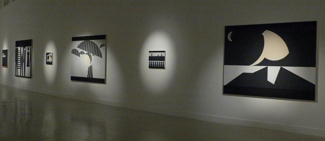 Exhibition view CACMálaga, 2008/2009